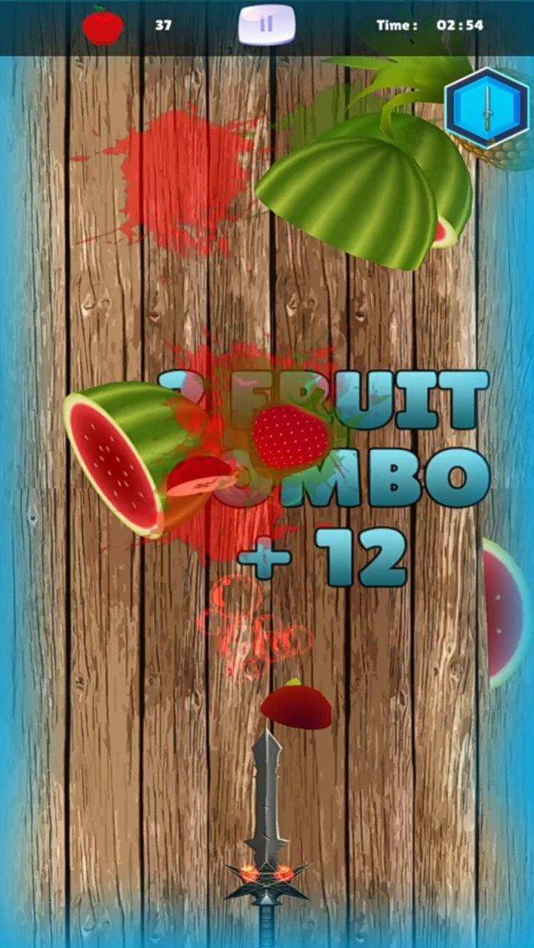 水果飞刀忍者图1