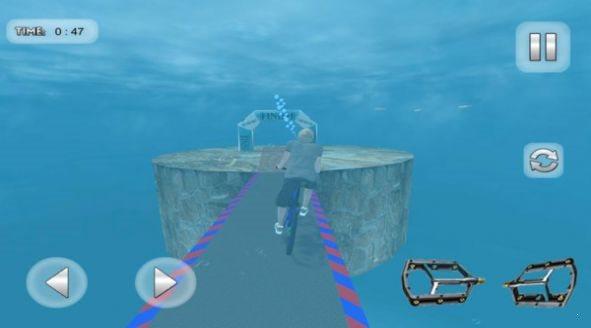 海底特技自行车最新版图3