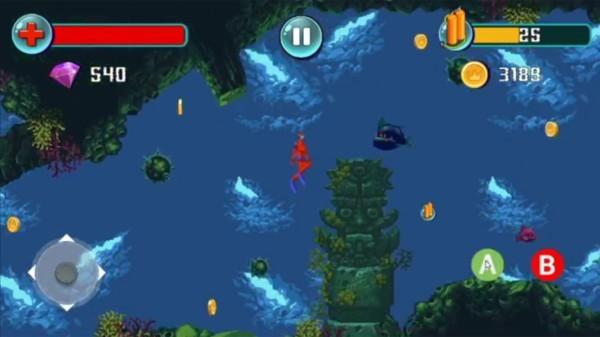 像素深海幸存者图1