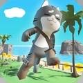 沙雕猫咪海滩跑酷