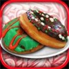 圣诞甜甜圈烹饪