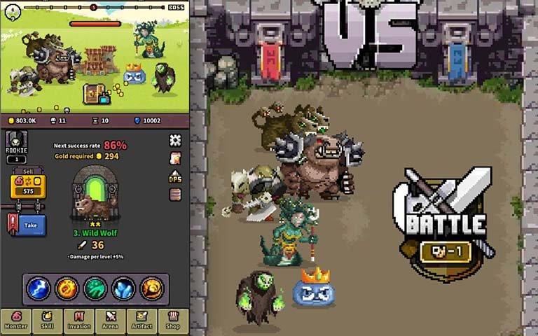 怪物门无限钻石版图4