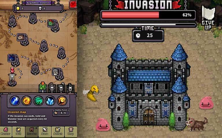 怪物门无限钻石版图2