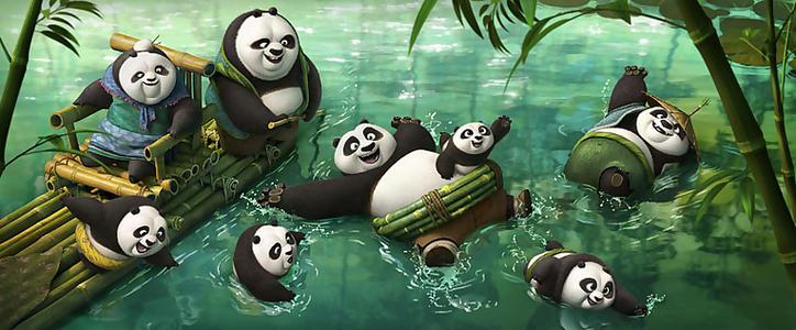 关于熊猫简单的游戏