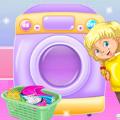 我阿姨正在打扫衣服