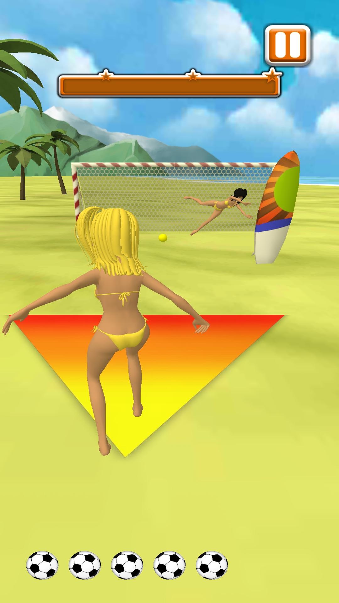 海滩拍摄足球射门王图3