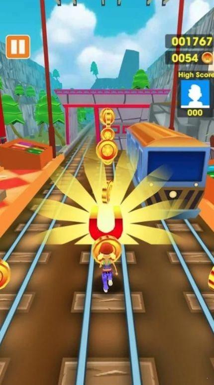 地铁冲浪无限金币破解版图2