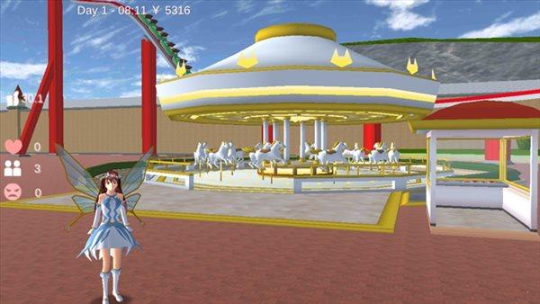 樱花校园模拟器12月22日更新圣诞节版图5
