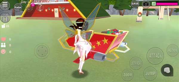 樱花校园模拟器12月22日更新圣诞节版图1