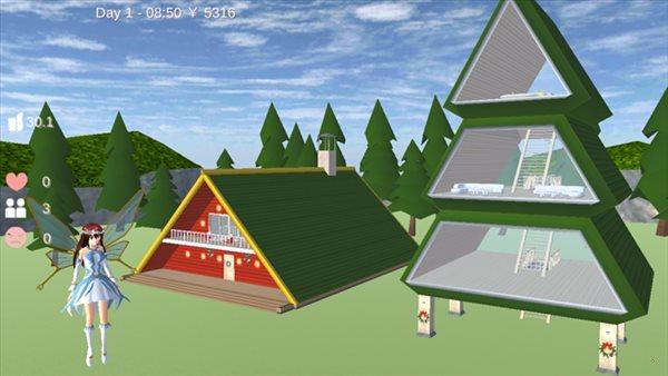 樱花校园模拟器12月22日更新圣诞节版图2