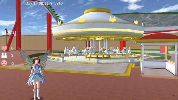 樱花校园模拟器圣诞节天使套装图2