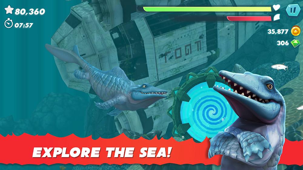 饥饿鲨进化哥斯拉无限钻石版图2
