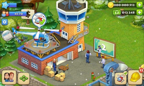 梦想城镇无限金币绿钞破解版图2