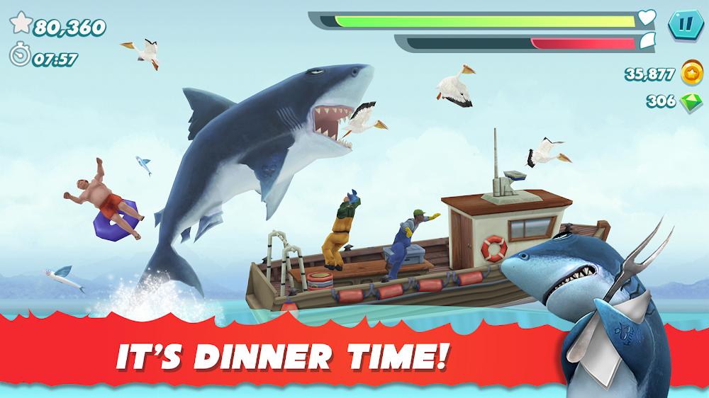 饥饿鲨进化哥斯拉无限钻石版图1
