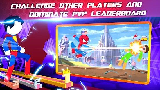 超级斯蒂克曼英雄战斗游戏图2