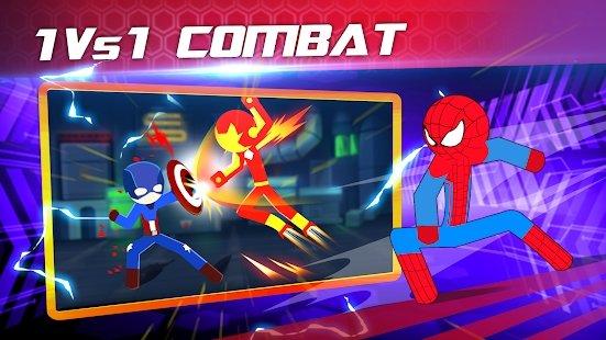 超级斯蒂克曼英雄战斗游戏图4