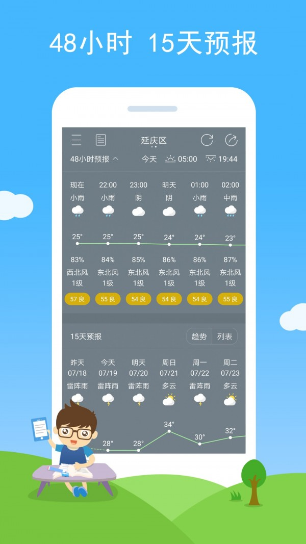七彩天气图2