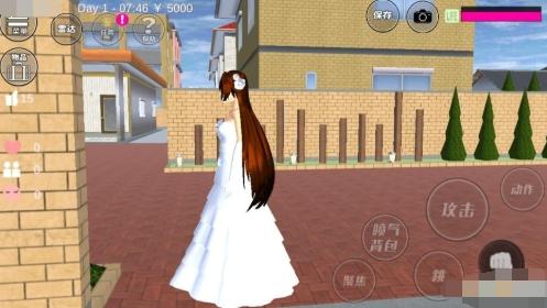 樱花校园模拟器洛丽塔中文版图2