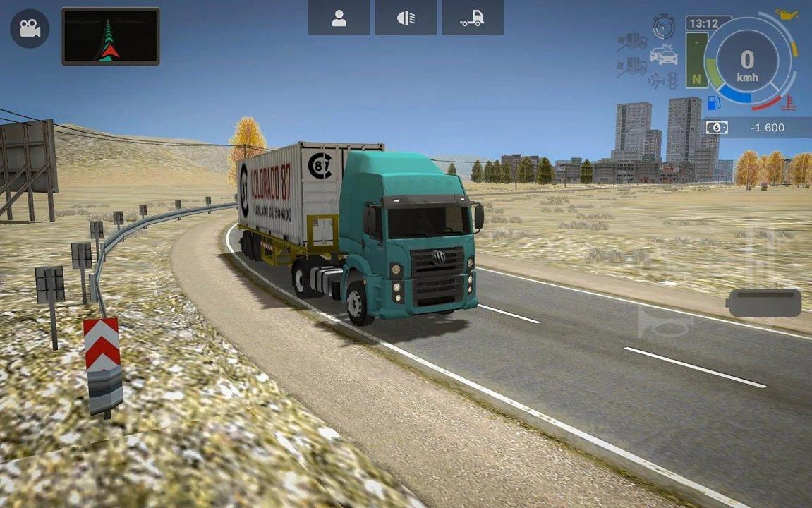 大卡车模拟器2无限金币版图2
