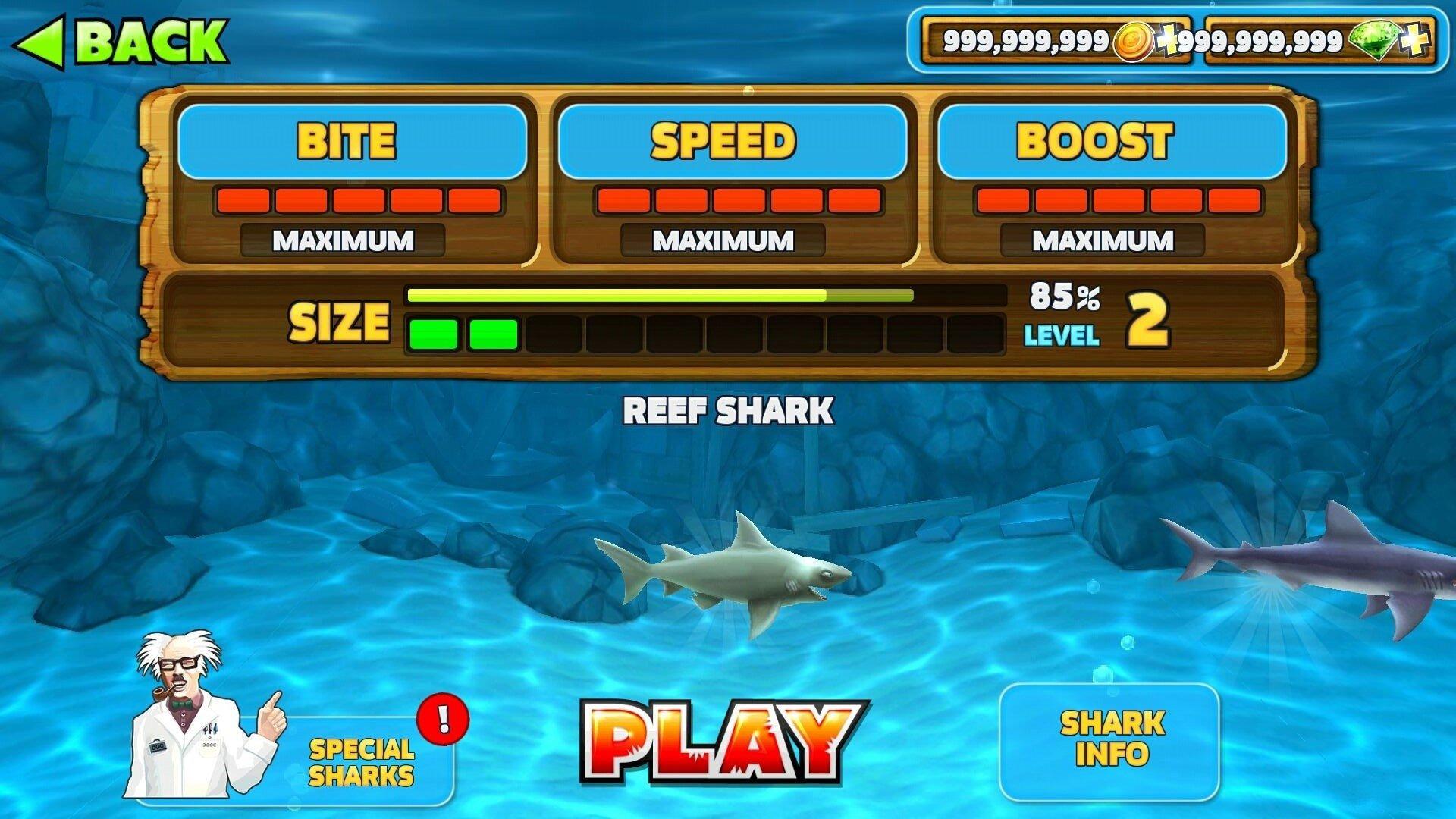 饥饿鲨进化破解版图2