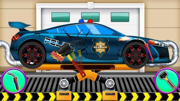 警车清洗修理游戏手机版图4