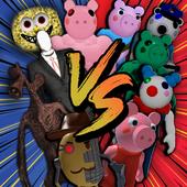 警笛头vs小猪大战手机版