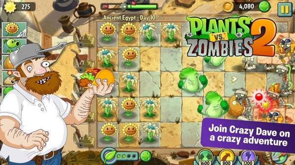 植物大战僵尸2国际最新破解版图1