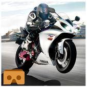 VR公路交通摩托赛车手