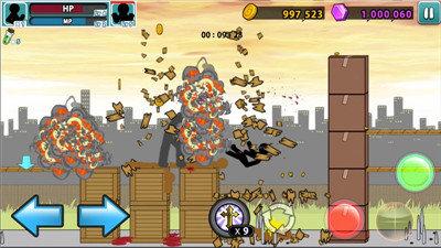 愤怒的火柴人5无限金币版图3