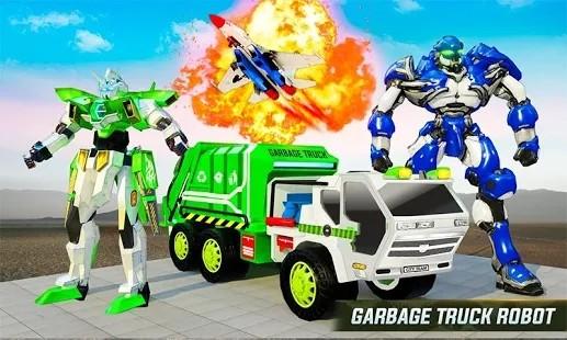 飞行垃圾车机器人改造图3
