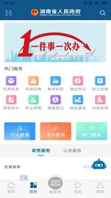 湖南省政府门户网站图2
