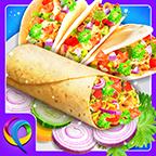 墨西哥美食街头烹饪