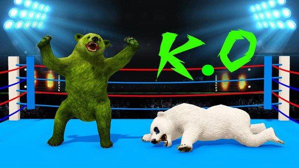 战斗熊格斗图1