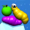 抖音虫子吃苹果游戏