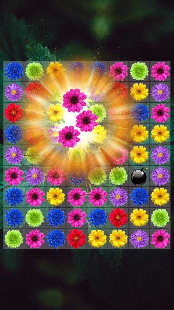 儿童花朵消消乐图4