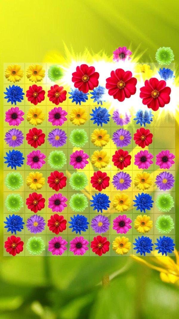 儿童花朵消消乐图2