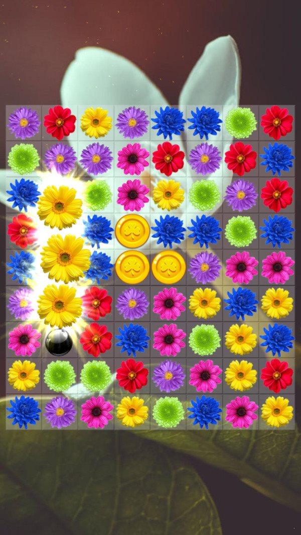 儿童花朵消消乐图3