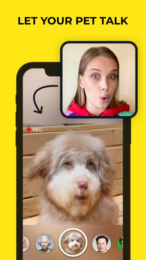 avatarify蚂蚁呀嘿特效app图1