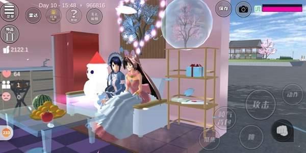 樱花校园模拟器1.038.14更新爱心屋中文版图3