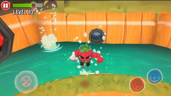 草莓人战斗图2