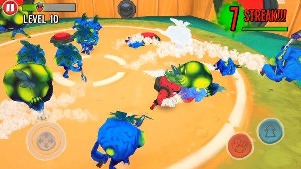 草莓人战斗图1