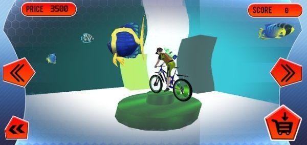 水下自行车3D图3