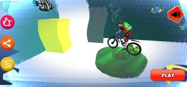 水下自行车3D图2