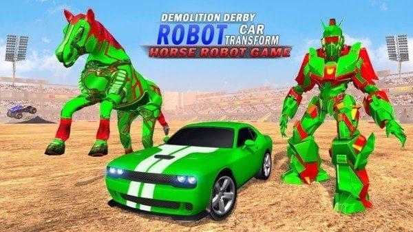 德比汽车机器人