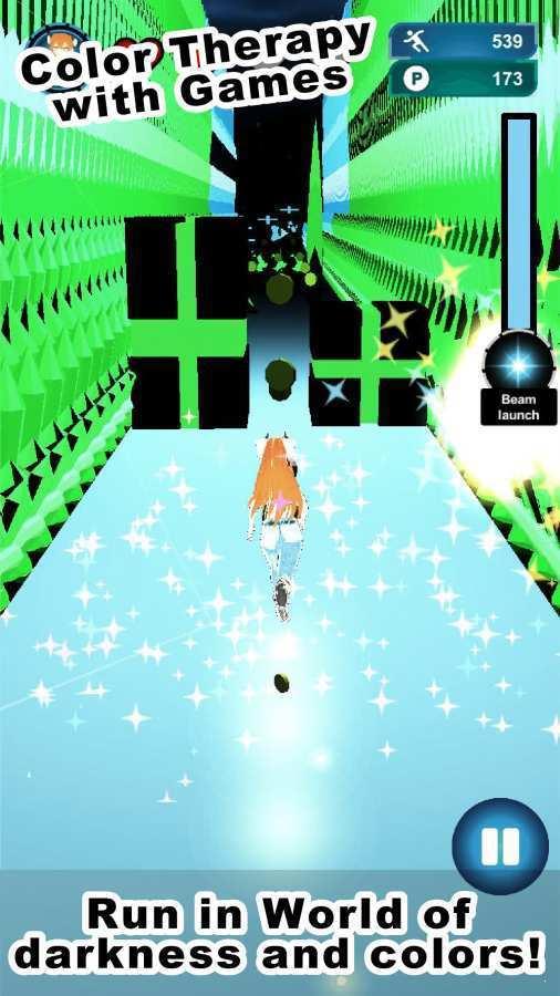 在黑暗中奔跑的女孩图4