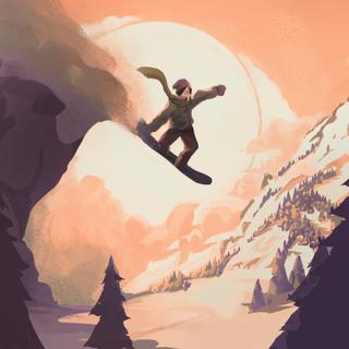 高山冒险滑雪破解版