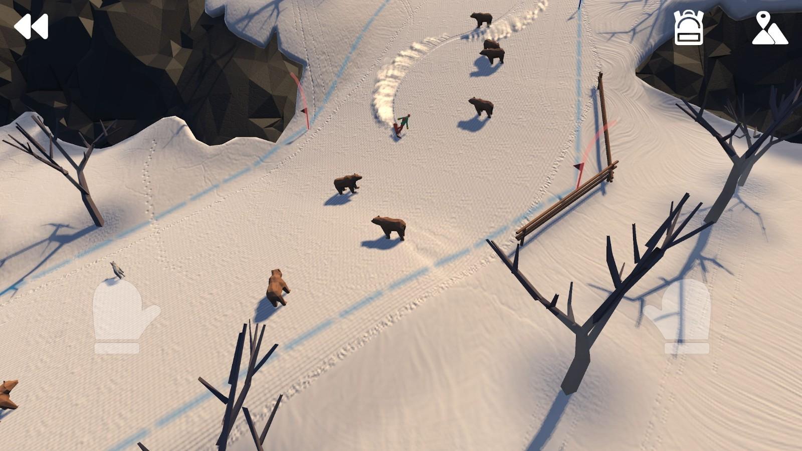 高山冒险滑雪破解版图2
