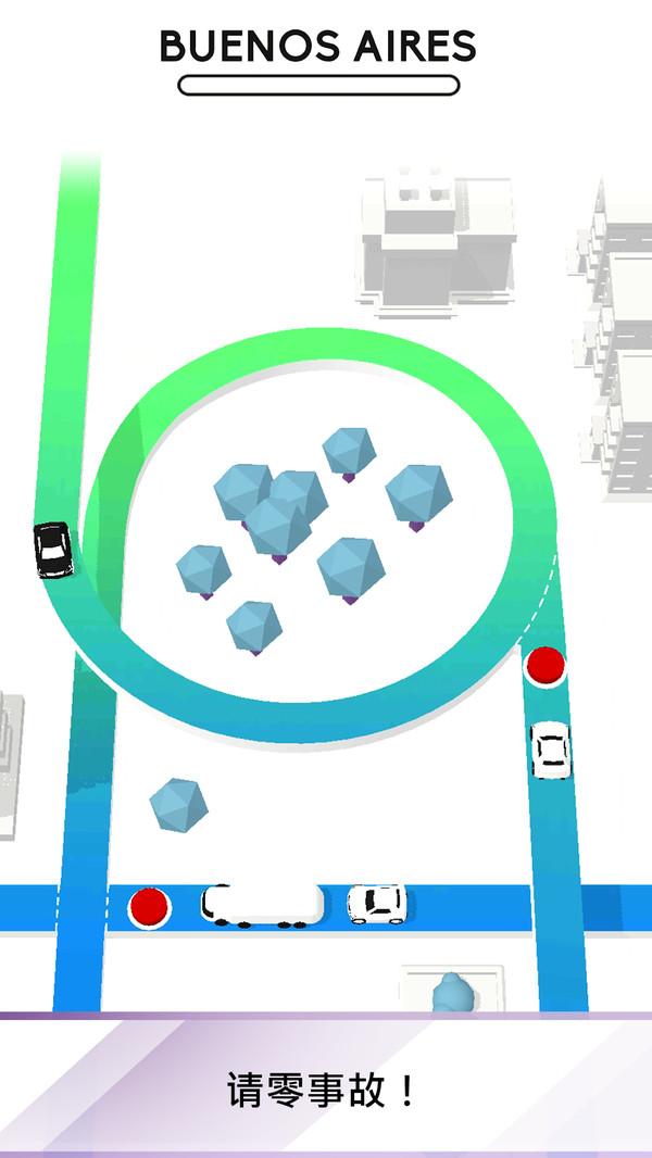 交通堵塞3D图1
