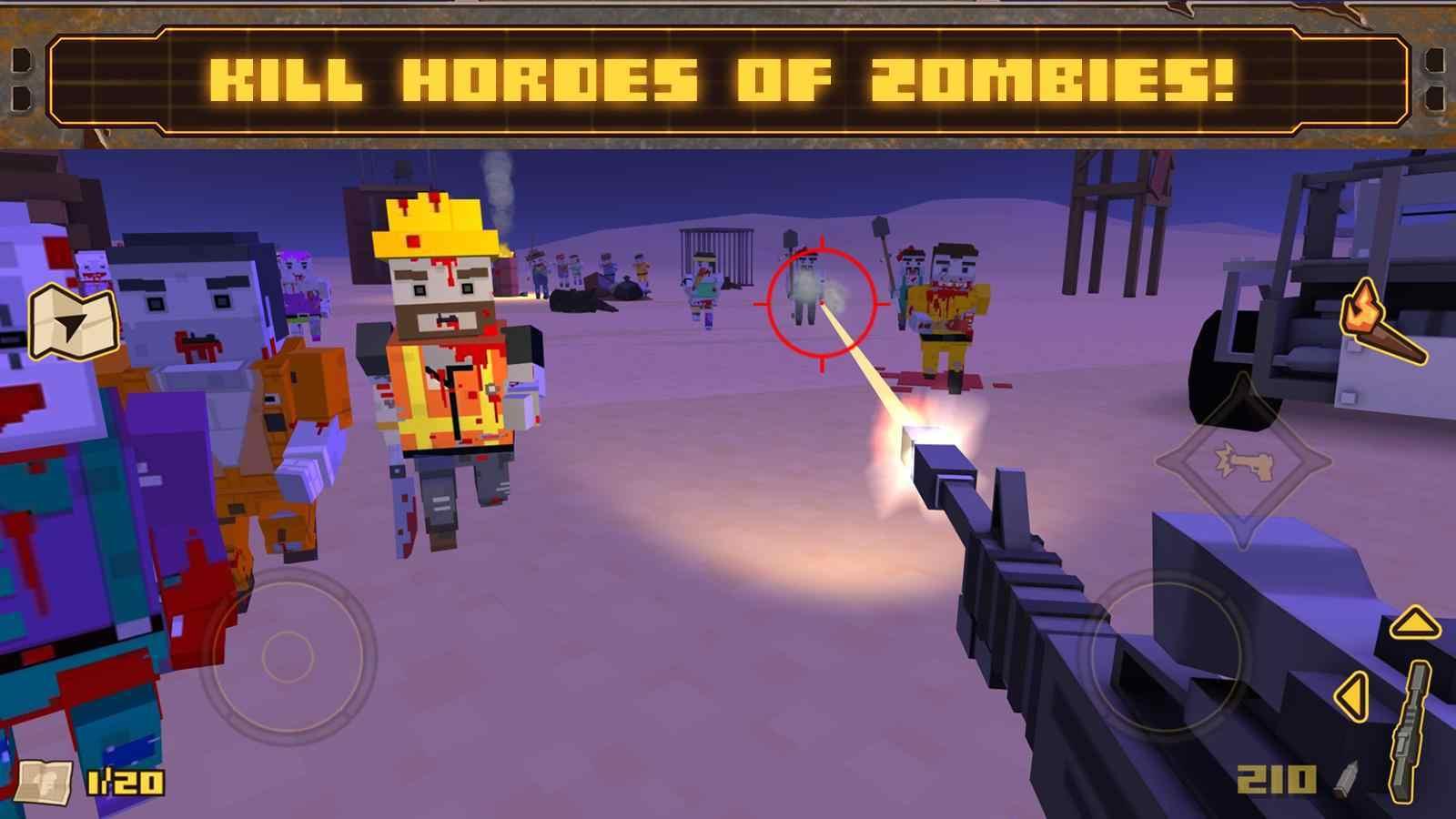 死亡僵尸岛游戏图1