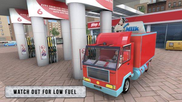 牛奶卡车模拟器图1